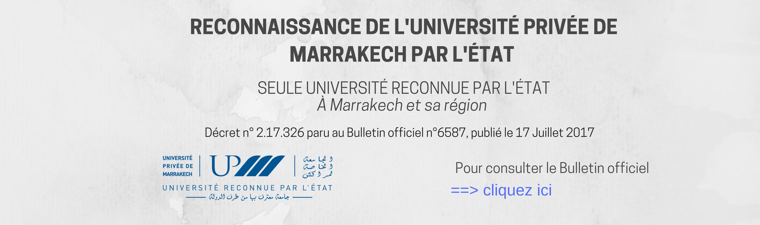 L'UNIVERSTÉ PRIVÉE DE MARRAKECH UNIVERSITÉ RECONNUE PAR L'ÉTAT (2)