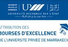 L'Université Privée de Marrakech attribue 100 bourses d'études aux étudiants les plus méritants.