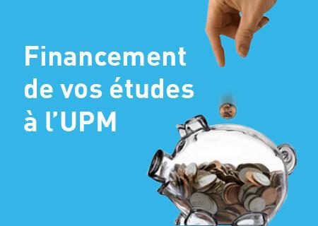 Financement des études à l'UPM